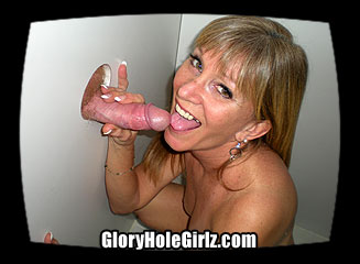 Mature Wife Gets Dual Creampies in the Gloryhole
