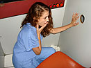 Nurse in the Glory Hole Booth