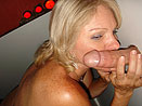Jackie Licking Cock