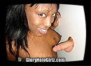 Ebony Mama Milking Cocks in the Gloryhole