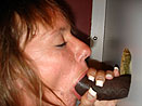 Slut Slurping Black Cock