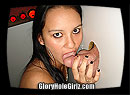 Teen Toni Giving Glory Hole Valentine's Day Blowjobs